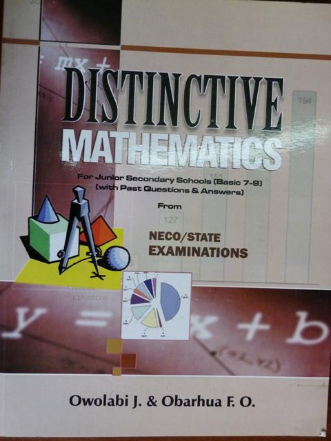 Distinctive Mathematics For Junior Secondary Schools ...